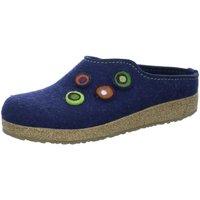 Schuhe Damen Hausschuhe Haflinger Grizzly Kanon,kapitän 731023 blau