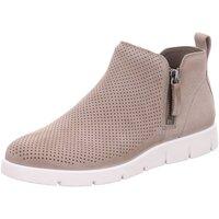 Schuhe Damen Stiefel Ecco Stiefeletten Bella 28214302375 grau
