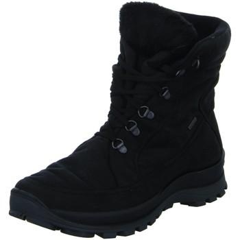 Schuhe Damen Schneestiefel Romika Westland Stiefeletten ALASKA 01 8700174/100 blk schwarz