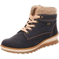 Schuhe Damen Stiefel Remonte Dorndorf Stiefeletten tex R4370-14 blau