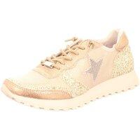 Schuhe Damen Sneaker Low Cetti C430 platino beige