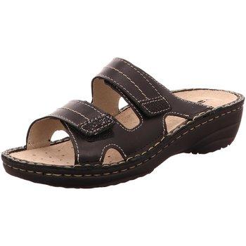 Schuhe Damen Pantoffel Rohde Pantoletten G 5777 90 schwarz