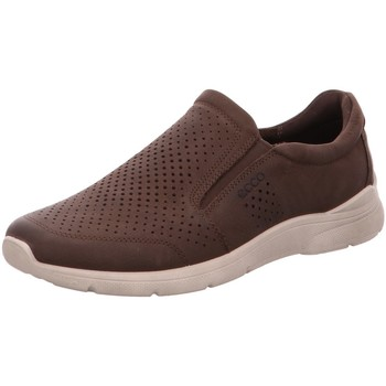 Schuhe Herren Slip on Ecco Slipper  IRVING 511644-02072 braun