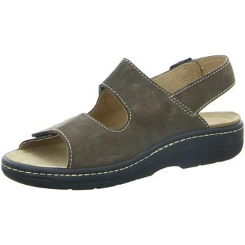 Schuhe Herren Sandalen / Sandaletten Longo Offene Braune Sandale 1006511 braun
