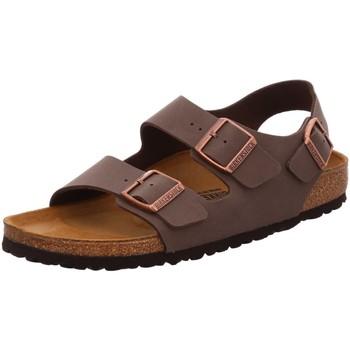 Schuhe Herren Sandalen / Sandaletten Birkenstock Offene Milano 634503 braun