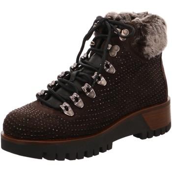 Schuhe Damen Wanderschuhe Alpe Stiefeletten 3146-16 braun