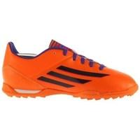 Schuhe Kinder Fußballschuhe adidas Originals F10 Trx TF J Schwarz, Orangefarbig, Violett