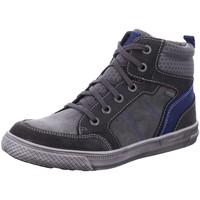 Schuhe Jungen Sneaker High Superfit Schnuerstiefel 3-00201-20 3-00201-20 grau