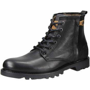 Schuhe Herren Wanderschuhe Bullboxer Must-Haves 250-K8-4988E-BLCK schwarz