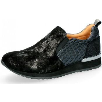 Schuhe Damen Slip on Caprice Slipper Leichter Slipper 24604-019 schwarz