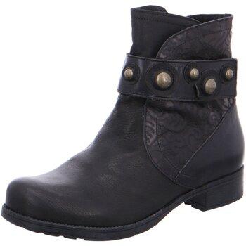 Schuhe Damen Stiefel Think Stiefeletten 3-83015-09 schwarz