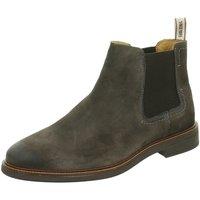 Schuhe Herren Boots Salamander 31-56702-47 grau