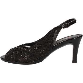 Schuhe Damen Sandalen / Sandaletten Repo 45289 Schwarz