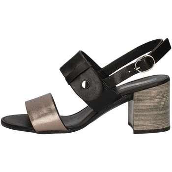 Schuhe Damen Sandalen / Sandaletten Repo 31231 Schwarz