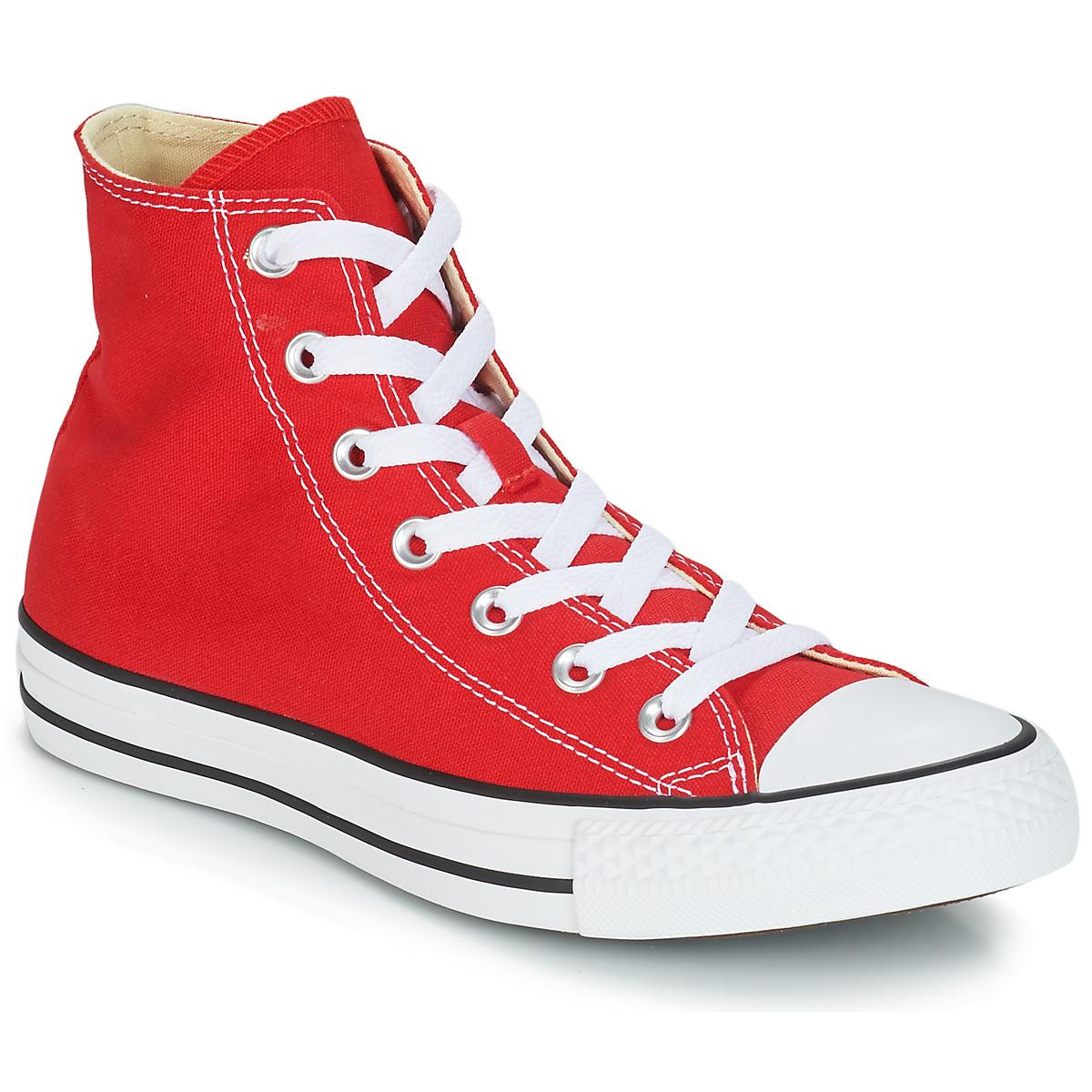Converse CHUCK TAYLOR ALL STAR CORE HI Rot - Kostenloser Versand bei Spartoode ! - Schuhe Sneaker High  55,99 €