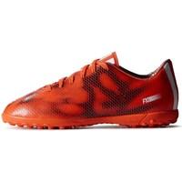 Schuhe Kinder Fußballschuhe adidas Originals F10 TF J Schwarz, Orangefarbig