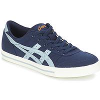 Schuhe Sneaker Low Asics AARON CANVAS Blau