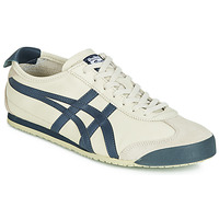 Schuhe Sneaker Low Onitsuka Tiger MEXICO 66 LEATHER Beige / Blau