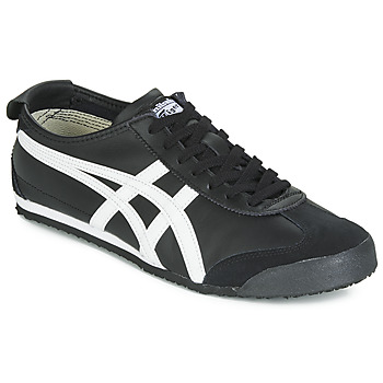 Schuhe Sneaker Low Onitsuka Tiger MEXICO 66 LEATHER Schwarz / Weiss