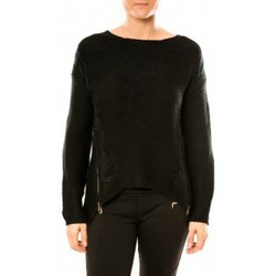 Kleidung Damen Pullover By La Vitrine Pull Laetitia MEM K078 Noir Schwarz