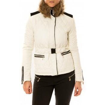 Kleidung Damen Daunenjacken Sweet Company Doudoune Voyelles 3B093 Blanc Weiss