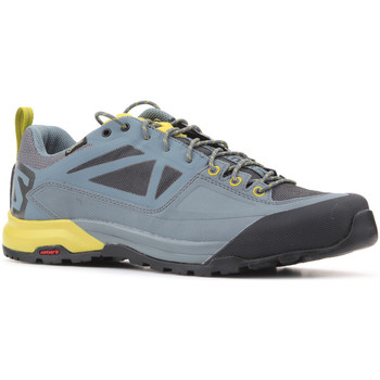 Schuhe Herren Sneaker Low Salomon X Alp SPRY GTX 401621 grau, gelb