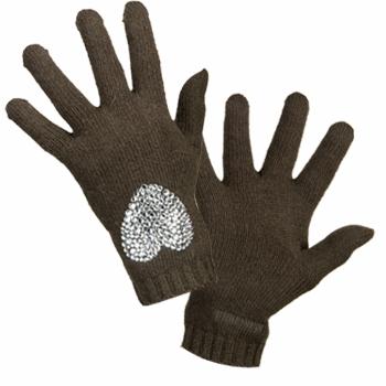 Accessoires Damen Handschuhe Moschino 29849 DK Grün