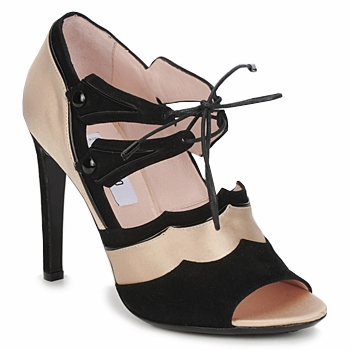 Schuhe Damen Sandalen / Sandaletten Moschino MA1601 100-Raso-Hell-Cane