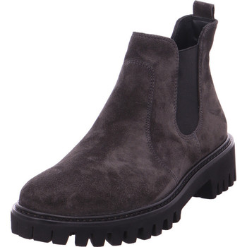 Schuhe Damen Stiefel Chelsea Stiefel 0063-9363-093 GRAU 05