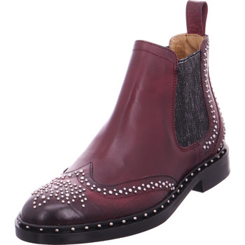 Schuhe Damen Stiefel Chelsea Stiefel - Sally 45 rot