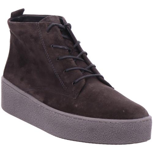 Paul Green Schnürstiefelette GRAU 05 - Schuhe Boots Damen 139,95