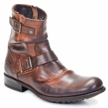 Schuhe Herren Boots Base London METAL Braun