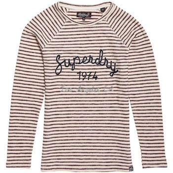 Superdry Langarmshirt BLOSSOM RAGLAN APPLIQUE TOP