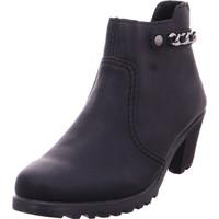 Schuhe Damen Low Boots Rieker - Y8090-00 schwa/schw 00
