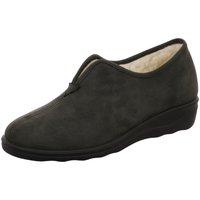Schuhe Damen Hausschuhe Romika Romisana 58 70008 73717 grau