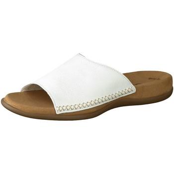 Schuhe Damen Pantoletten / Clogs Gabor Pantoletten 03.705.21 weiß