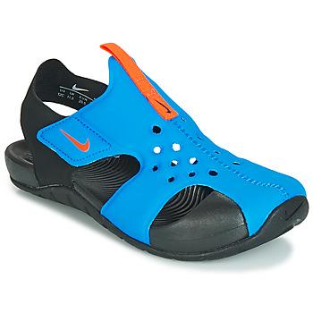 Schuhe Kinder Sandalen / Sandaletten Nike SUNRAY PROTECT 2 PS Schwarz / Blau