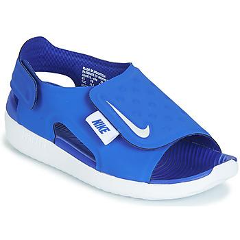 Schuhe Jungen Sandalen / Sandaletten Nike SUNRAY ADJUST 5 Blau