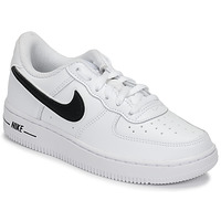 Schuhe Kinder Sneaker Low Nike AIR FORCE 1-3 PS Weiss / Schwarz