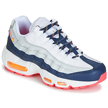 Schuhe Damen Sneaker Low Nike AIR MAX 95 W Weiss / Blau / Orange