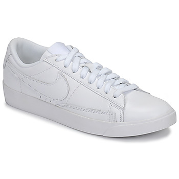 Schuhe Damen Sneaker Low Nike BLAZER LOW LEATHER W Weiss