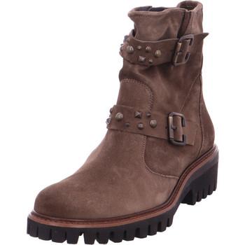 Schuhe Damen Stiefel Paul Green 0063-9330-033 BRAUN
