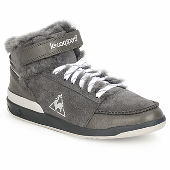 Schuhe Damen Sneaker High Le Coq Sportif DIAMOND LAMMY ADD Maulwurf